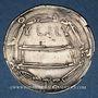 Monnaies Afghanistan. Abbassides. Harun al-Rashid (170-193H). Dirham 189H. Madinat Balkh