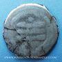 Monnaies Afghanistan. Ghaznévides. Mahmoud (388-421H). Dirham yamini 411H, Ghazna