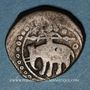 Monnaies Afghanistan. Ghourides. Mahmoud b. Muhammad (602-609H). Jital billon (Shafurqan ?)