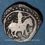 Monnaies Afghanistan. Ghourides. Muhammad b. Sam (558-599H). Jital (combinaison inédite)