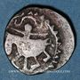 Monnaies Afghanistan. Shahs du Khwarezm. Muhammad b. Tekesh (567-596H). Jital billon (Shafurqan)