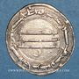 Monnaies al-Jazira. Abbassides. Harun al-Rashid (170-193H). Dirham 190H. al-Rafiqa