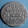 Monnaies Al-Jazira. Ilkhanides. Sulayman (739-746H). 2 dirham 745H, Hisn (Keyfa)