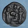 Monnaies al-Jazira. Ortoquides de Mardin. Yuluq Arslan (580-597H). Bronze, dirham
