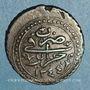 Monnaies Algérie. Ottomans. Mahmoud II (1223-1255H = 1808-1839). 5 aspres 1244H (= 1828). Alger