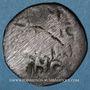 Monnaies Anatolie. Danishmendites. Malik Muhammad (528-536H). Dirham bronze à légende grecque