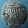 Monnaies Anatolie. Mamelouks. Muhammad I, 3e règne (709-741H). Dirham surfrappé sur un tram d'Arménie