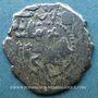 Monnaies Anatolie. Mamelouks. Muhammad I (709-741H). Dirham, surfrappé sur un tram d'Arménie Cilicienne