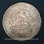 Monnaies Anatolie. Ottomans. Abd al-Hamid I (1187-1203H). Qurush 1187H / an 9, Constantinople