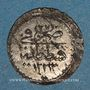 Monnaies Anatolie. Ottomans. Mahmoud II (1223-1255H). Para billon 1223H / an 28 (9e standard), Qustantiniya