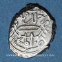 Monnaies Anatolie. Ottomans. Mehmet II, 2e règne (855-886H). Akce (85)5H, Amasya