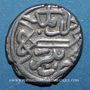 Monnaies Anatolie. Ottomans. Mehmet II, 2e règne (855-886H). Akçe 855H, Bursa