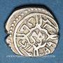 Monnaies Anatolie. Ottomans. Mehmet II, 2e règne (855-886H). Akce 855H (écrit 755H), Bursa
