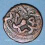 Monnaies Anatolie. Ottomans. Mehmet II, 2e règne (855-886H).Mangir, Bursa