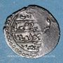 Monnaies Anatolie. Ottomans. Muhammad Celebi (808-824H). Akce 813H,  Bursa.