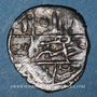 Monnaies Anatolie. Ottomans. Muhammad Celebi (808-824H). Akce, Ankara