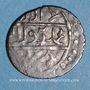 Monnaies Anatolie. Ottomans. Muhammad Celebi comme vassal de Tamerlan (806-808H). Akce (806)H,  Bursa.
