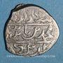 Monnaies Anatolie. Ottomans. Muhammad Celebi comme vassal de Tamerlan (806-808H). Akce (806H),  Bursa.