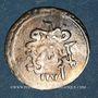 Monnaies Anatolie. Ottomans. Mustafa III (1171-1187H). Para 1171H / an 6, Islambul (Istanbul