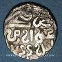 Monnaies Asie centrale. Horde d'Or. Jani Beg (742-758H).  Dirham 744H, Khwarezm