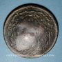 Monnaies Balkans. Ottomans. Bogaz Hisar (Dardanelles). Bronze, 20 Para 1255H / An 4, contremarqué et daté 131