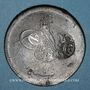 Monnaies Balkans. Ottomans. Bronze, 40 Para 1277H/ An 4, contremarqué