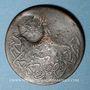 Monnaies Balkans. Ottomans. Ile de Yunda (proche de Lesbos). Bronze, 20 Para 1277H/ An 1, contremarqué, daté