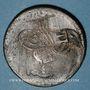 Monnaies Balkans. Ottomans. Lesbos. Bronze, 40 Para 1277H/ An 4, contremarqué