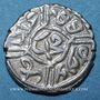 Monnaies Balkans. Ottomans. Mehmet II, 2e règne (855-886H). Akçe 855H, Edirne
