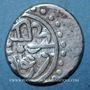 Monnaies Balkans. Ottomans. Mehmet II, 2e règne (855-886H). Akçe 865H, Novar