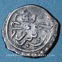 Monnaies Balkans. Ottomans. Mehmet II, 2e règne (855-886H). Akçe 865H, Serez