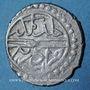 Monnaies Balkans. Ottomans. Murad II (824-848H). Akçe 834H, Edirne