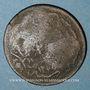 Monnaies Balkans. Ottomans. Polihnitos (Lesbos). Bronze, 20 Para 1277H contremarqué