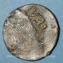 Monnaies Balkans. Ottomans. Telonia (Lesbos). Bronze, 20 Para 1255H/ An 19, contremarqué