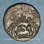 Monnaies Egypte. Fatimides. al-Amir (495-524H). Bi, fraction de dirham (Misr)
