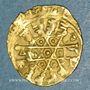 Monnaies Egypte. Fatimides. al-Mustansir (427-487H). 1/4 dinar étoilé  (Sicile)