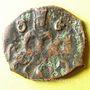 Monnaies Géorgie. Bagratides. David (Ulugh ?) fils de Giorgi (ca 1244-1269). Fals