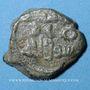 Monnaies Gouverneurs Umayyades d'Espagne. Fals anonyme 16 mm