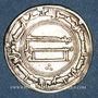 Monnaies Iraq. Abbassides. al-Mansur (136-158H). Dirham 144H. al-Kufa