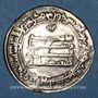 Monnaies Iraq. Abbassides. al-Mu'tadid (279-289H). Dirham 283H. Wasit