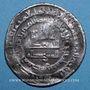 Monnaies Jazira. Abbassides. al-Mu'tadid (279-289H). Dirham 283H, Nisibin