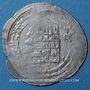 Monnaies Jazira. Abbassides. al-Qahir (320-322H). Dirham (32)2H, (Nisi)bin ?