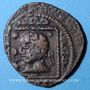 Monnaies Jazira. Ilkhanides. Hulagu (654-663H). Fals 66(2)H, (Sinjar)