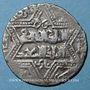 Monnaies Jazira. Ortoquides de Mardin. Najm ed-Din Ghazi I (637-659H). Dirham, Meyafarikin