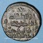 Monnaies Jazira. Ortoquides de Mardin. Nasir ed-Din Artuq Arslan (597-637H = 1201-1239). Dirham 611H