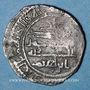 Monnaies Maghreb. Aghlabides. Ibrahim II (261-289H). 1/2 dirham, al-'Abbasiya