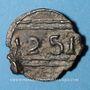 Monnaies Maghreb. 'Alawites. Moulay 'Abd ar-Rahman (1238-1276H). Fals 1251H