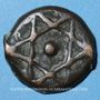 Monnaies Maghreb. 'Alawites. Moulay 'Abd ar-Rahman (1238-1276H). Fals 1256H