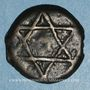 Monnaies Maghreb. 'Alawites. Moulay 'Abd ar-Rahman (1238-1276H). Fals 1260H. Rabat al-Fath