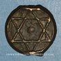 Monnaies Maghreb. 'Alawites. Moulay 'Abd ar-Rahman (1238-1276H). Fals 1262H, Rabat al-Fath